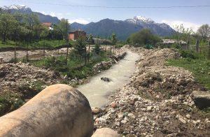 В Тарском устраняют последствия разлива реки