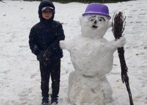 В горных районах Северной Осетии выпал снег