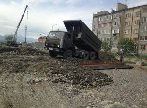 В 19-м микрорайоне Владикавказа началось строительство детского сада