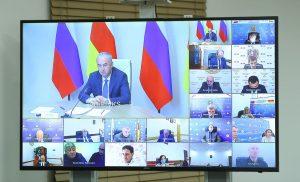 Таймураз Тускаев обсудил реализацию инвестпроектов с руководителями  органов исполнительной власти и местного самоуправления
