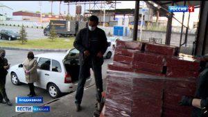 Ставропольский край направил в Северную Осетию полторы тонны сладостей для многодетных и малообеспеченных семей