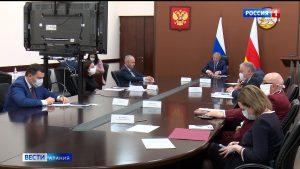 Вячеслав Битаров принял участие в ВКС под председательством Владимира Путина