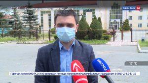 Представители «Единой России» и сети супермаркетов «Магнит» поблагодарили врачей, которые живут в режиме изоляции