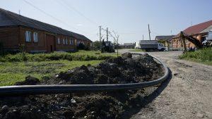 В Гизели идут работы по модернизации системы водоснабжения