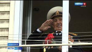 Под балконом 95-летнего ветерана Александра Пагаева исполнили «Катюшу»
