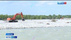 В районах республики проводят противопаводковые работы в связи с подъемом уровня воды в реках