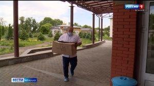 Представители осетинской диаспоры в Москве передали средства защиты врачам бесланской районной больницы