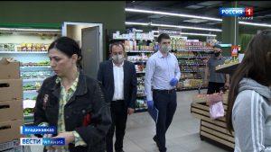 Роспотребнадзор проверил торговые центры Владикавказа