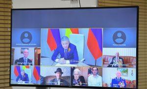 Вячеслав Битаров поздравил ветеранов с 75-летием Победы