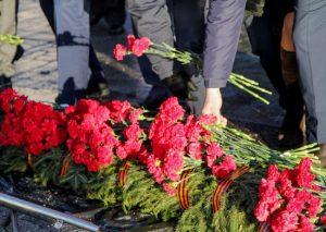 Военнослужащие ЮВО во Владикавказе почтили память павших в Великой Отечественной войне