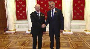 Бибилов встретился с Путиным в рамках визита в Москву
