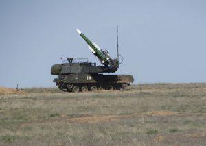 Зенитчики ЮВО в Северной Осетии отразили нападение противника и уничтожили воздушные цели