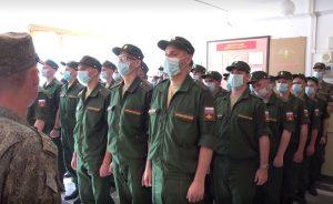 В мотострелковое соединение ЮВО в Северной Осетии прибыло  молодое пополнение