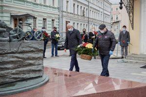 В Москве почтили память детей, погибших в бесланской трагедии