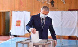 Вячеслав Битаров принял участие в голосовании по поправкам в Конституцию РФ
