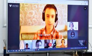 Вячеслав Битаров в режиме видеоконференции провел встречу с выпускниками «Яндекс.Лицея»