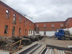 В Ногире продолжает реконструкция СОШ №1