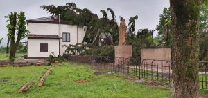Большая часть сел Ардонского района после непогоды осталась без электричества и воды