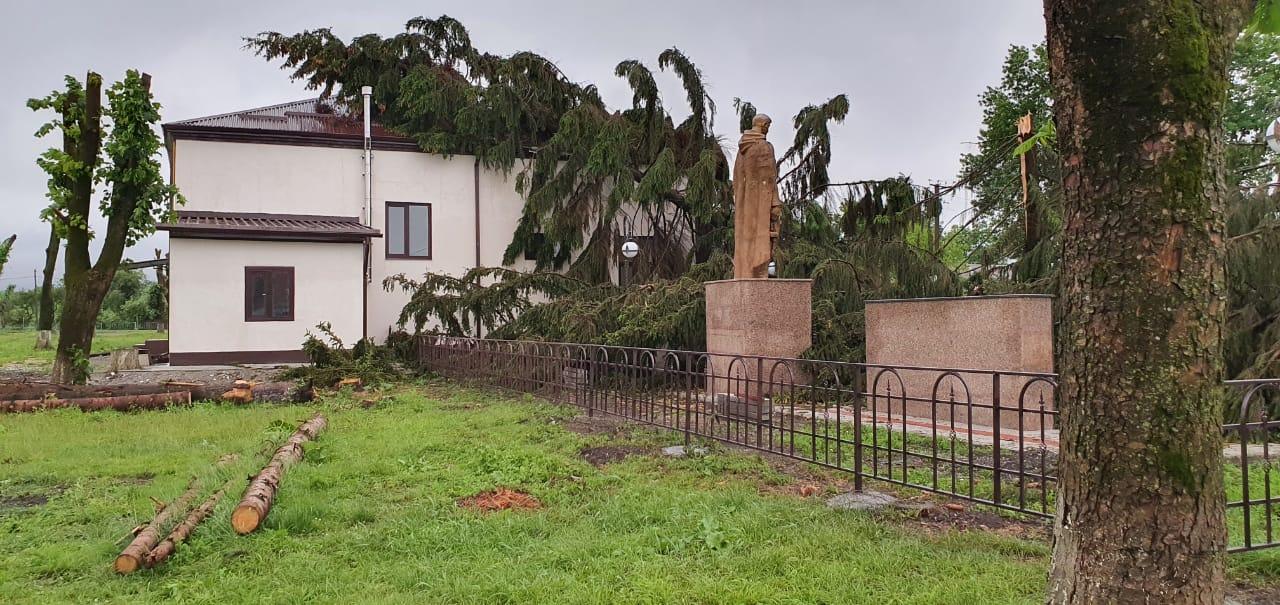 Пострадавшие от непогоды учреждения Ардонского района отремонтируют до сентября