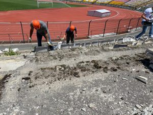 Во Владикавказа началась реконструкция стадиона «Спартак»