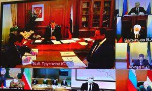 Юрий Чайка выступил с докладом на совещании, посвященном совершенствованию мер по развитию СКФО