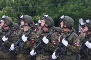 Подразделения 58-й армии начали подготовку к Параду Победы во Владикавказском гарнизоне