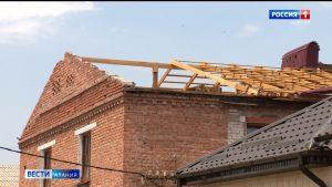 В Беслане до сих пор устраняют последствия непогоды, обрушившейся на республику 3 июня