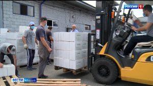 Северная Осетия отправила в Чечню 20 тонн дезинфицирующего раствора