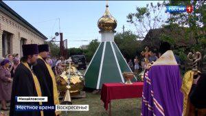 В селении Михайловском возрождают церковь