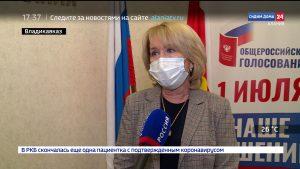 Председатель ЦИК РСО-А Жанна Моргоева рассказала о подготовке к голосованию по поправкам в Конституцию