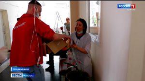 «Молодежка ОНФ» поздравила персонал станции переливания крови и поликлиники №4 с наступающим профессиональным праздником