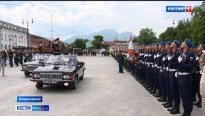 Во Владикавказе прошел парад Победы
