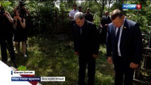 В Южной Осетии возложили цветы к памятникам жертв геноцида, в церквях прошли панихиды