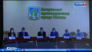 Руководитель группы врачей из Москвы, которые работают в республике, принял участие в ВКС с департаментом здравоохранения Москвы