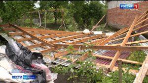 Правобережный район продолжает восстанавливаться после удара стихии