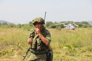На полигоне «Тарское» началось двустороннее батальонное тактическое учение мотострелков