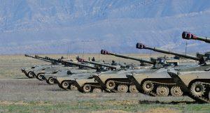Российская артиллерия накрыла «противника» в горах Южной Осетии