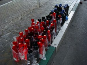 На МАПП «Верхний Ларс» задержали более 160 литров контрабандного вина