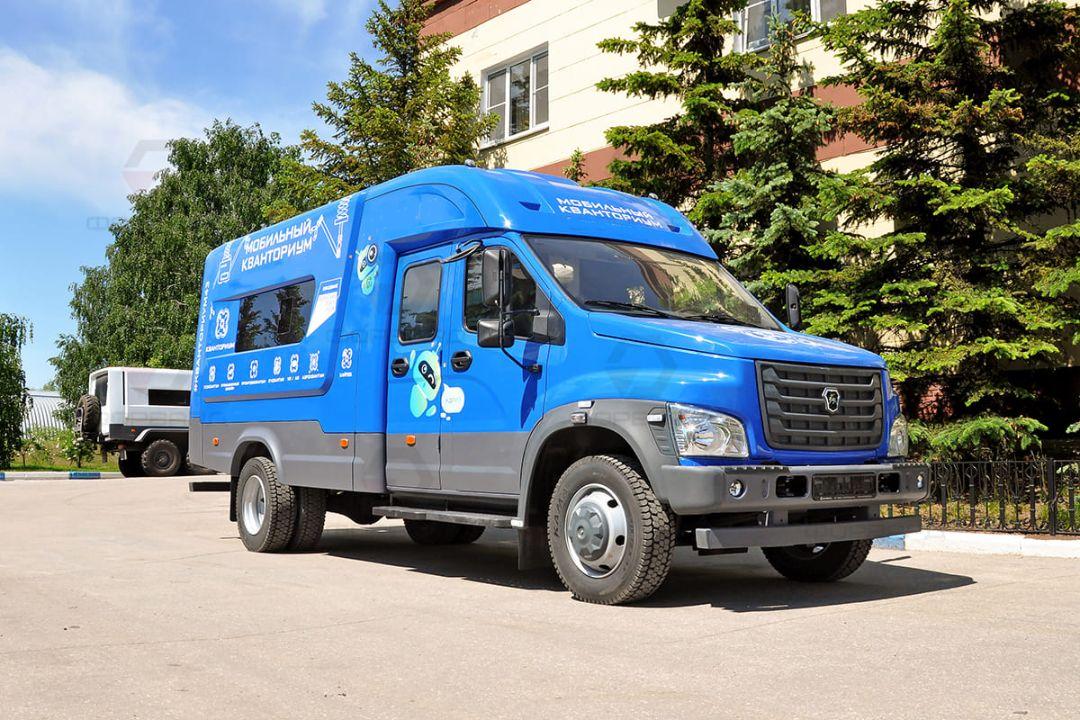 Мобильный технопарк «Кванториум» отправится в районы Северной Осетии