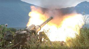 Артиллерию большой мощности задействовали в ходе учений на Северном Кавказе