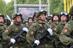 Мотострелковая дивизия в Северной Осетии отметила 98-ю годовщину со дня формирования