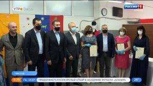 Таймураз Тускаев вручил Благодарственные письма лучшим работникам Ирафской швейной фабрики