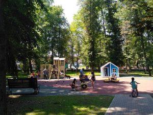 В Пригородном районе завершено благоустройство Центрального парка