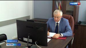 Алексей Мачнев принял участие в заседании президиума Совета законодателей страны