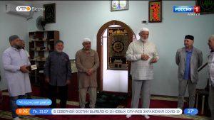 В селении Виноградном открылась мечеть