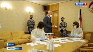 В Постпредстве Северной Осетии в Москве прошло голосование по поправкам в Конституцию РФ