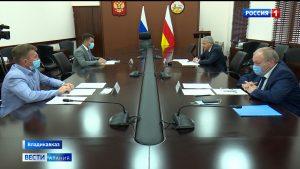 Вячеслав Битаров обсудил перспективы рыбоводства в Северной Осетии с учредителями компании «Остров»