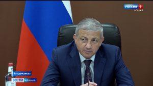 Вячеслав Битаров принял участие в совещании по вопросам социально-экономического развития субъектов СКФО