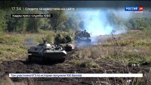 Российские военные начали учения на Северном Кавказе и в Закавказье