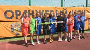 Во Владикавказе стартовал этап всероссийского баскетбольного уличного турнира «Оранжевый мяч»